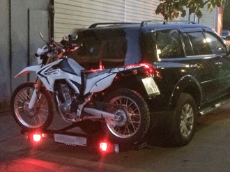 Подвес для мотоцикла